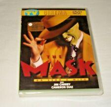 THE MASK  DVD  FUORI CATALOGO - Jim Carrey - NUOVO SIGILLATO EDITORIALE