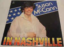 Susan McCann in Nashville c1980 Top Spin Records SSLP 501 Vinyl LP Album
