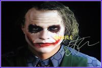 4x6 SIGNED AUTOGRAPH PHOTO REPRINT of Heath Ledger The Joker Batman #TP