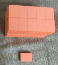 60  Mini Nail File Buffer Blocks 100/180 Grit 2 Sided Disposable Mani- Pedicure