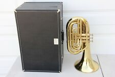 Blessing Elkhart Marching Baritone Bass Horn With Case, Mouthpiece READY to PLAY