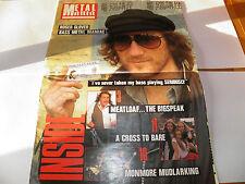 Metal Mania 5 - UK NWOBHM Poster Magazine 1982 Tytan Rainbow David Coverdale