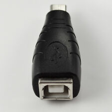 USB Micro 5 pin Male Plug to USB 2.0 B Female Adapter Connector Charger PC Phone
