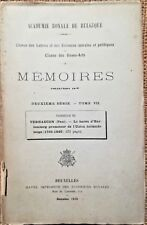 EMPIRE POLITIQUE, Le Baron d'Hartemberg, Union Hollando-Belge, VERHAEGEN - 6010