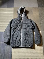 Boys Under Armour Black Winter Jacket Size Youth Large Insulated Puffer