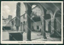 Firenze Certaldo Alto Castello De Peverelli Luschi FG cartolina ZK3897