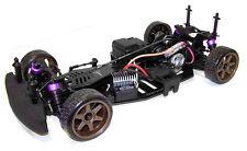HPI Sprint 2 Chassis Aluminium Upgrade Hop-Up Radshape RC - Black #HPISPR2B