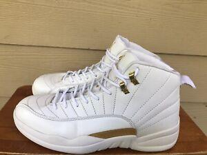 Jordan Jumpman 23 Men's Basketball Shoes Sneakers 330690-003 White Gold Sz 11