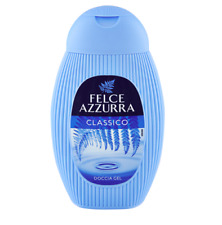 6x Felce Azzurra classic Shower gel Duschcreme 2 in 1  Duschgel 250 ml