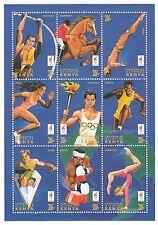 (88113) Kenya MNH Olympics Minisheet 1996 Atlanta
