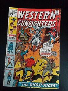 "Marvel Comic - Western Gunfighters # 3  ""The Western Ghost Rider"" c. 1970"