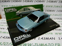 OPE77R voiture 1/43 IXO OPEL collection : MONZA metallisé
