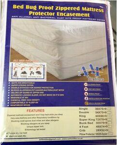 Laboratory Certified  Bedbug Allergy Dust Mite Proof Mattress Encasement