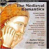 Medieval Romantics, The (Page, Gothic Voices), Various Composers, Audio CD, New,