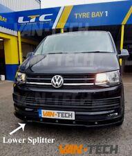 VW Transporter T6  Front Lower Bumper Spoiler Splitter