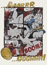 Children's bedroom Wallpaper wall mural Mickey Mouse & Donald Duck comics Disney