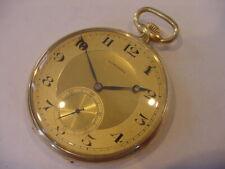 BEAUTIFUL 1922 18k 18-KARAT SOLID GOLD LONGINES ANTIQUE POCKET WATCH!