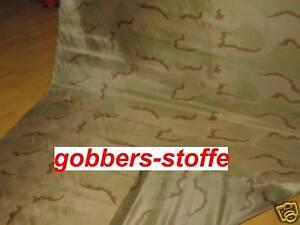 Tarnstoff-Tarn Stoff-Nato-camouflage-Military-Wüste PES Meterware