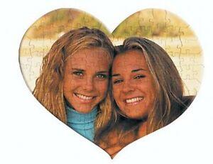 Puzzle personalizzato cuore con la tua foto! 208 pezzi circa A3! San Valentino.