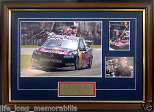 CRAIG LOWNDES 888 RED BULL RACING V8 SUPERCARS CHAMPION SIGNED AND FRAMED