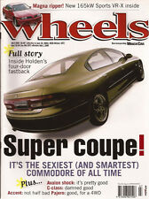 Wheels Jul 00 W203 C320 V70 TS Discovery ES Td5 W211 E270 Diesel Monaro Coupe