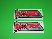 OXTAR MATRIX GTX GORE-TEX TOURING OFFROAD MOTOCROSS MOTORCYCLE BOOTS STICKERS *