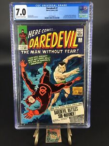Daredevil #7 - CGC 7.0- First Red Costume Silver Age - Blue Label