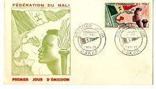 Sobre sellos Mali 1959 Primer día de emisión first day cover