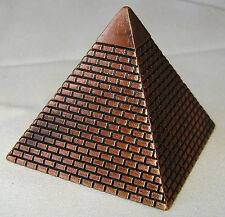 NEW BRASS COLOUR EGYPTIAN PYRAMID DESKTOP ORNAMENTAL PENCIL SHARPENER. WESTAIR