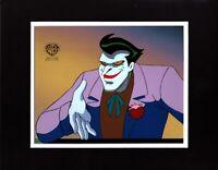 Batman The Animated Series JOKER BTAS Production Animation Cel Warner Br 1992 ag