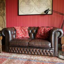Leather Traditional Up to 2 Seats Double Sofas