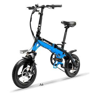 "Lankeleisi ®  A6 14"" wheel Folding Road Bike"