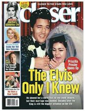 2017 Closer Magazine The Elvis Only I Knew Elvis and Priscilla Presley Cover!