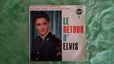Elvis Presley – Le Retour D'Elvis 1    75.607 pressage francais