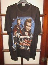 T-shirt JOHNNY HALLYDAY 2001 vintage photos Angeli XL