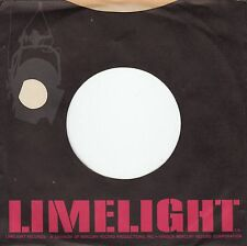 Company Sleeve 45 Limelight - Black W/ Red Text & Grey Stage Light