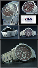 Fila Size Classy Men Chronograph Watch Japan Movement! Good Readable New