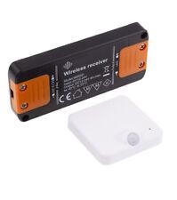 Funk Bewegungsmelder LED Leuchtmittel 12V 24V DC Controller Möbelleuchten Einbau