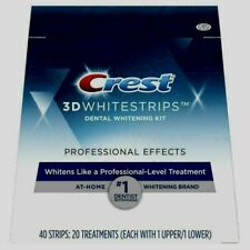 NEW Crest 3D Whitestrips Professional White - 40 Strips exp/ mr/2022