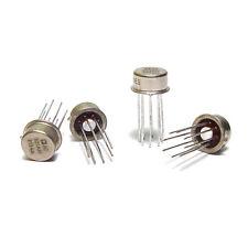 4x Operationsverstärker AD301 AH, Metallgehäuse, High End Audio OP, NOS