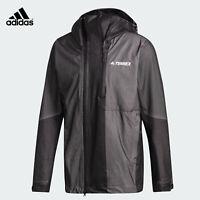 Adidas Terrex Waterproof Primeknit Rain Jacket DZ2055 Men's Size Large New!