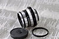 INDUSTAR 61 ZEBRA 8/52mm Soviet Lens + adapter ring M39-M42 USSR