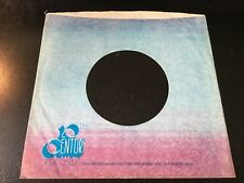 "20TH CENTURY Records Company Sleeve  for 7"" Vinyl   VG+"