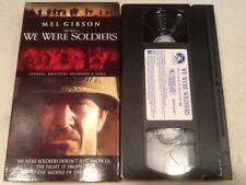 We Were Soldiers (VHS, 2002) Mel Gibson, Greg Kinnear, Sam Elliot Free Shipping!