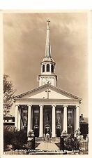 C40/ Bardstown Kentucky Ky Photo RPPC Postcard c40s Cline St Joseph Cathedral
