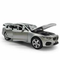 1:32 S90 2019 Die Cast Modellauto Spielzeug Model Sammlung Pull Back Silber