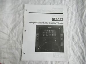 Case CASEIH Magnum tractor Intelligence Center product info report brochure