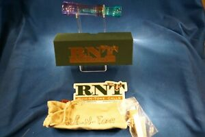 RNT RICH-N-TONE D.C. MONDO. PASSION/TEAL MINT IN BOX WITH PAPER, REED, & STICKER