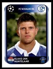 Panini Champions League 2010-2011 Klaas-Jan Huntelaar FC Schalke 04 No. 122