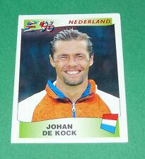 N°82 DE KOCK NEDERLAND PAYS-BAS PANINI FOOTBALL UEFA EURO 96 EUROPE EUROPA 1996